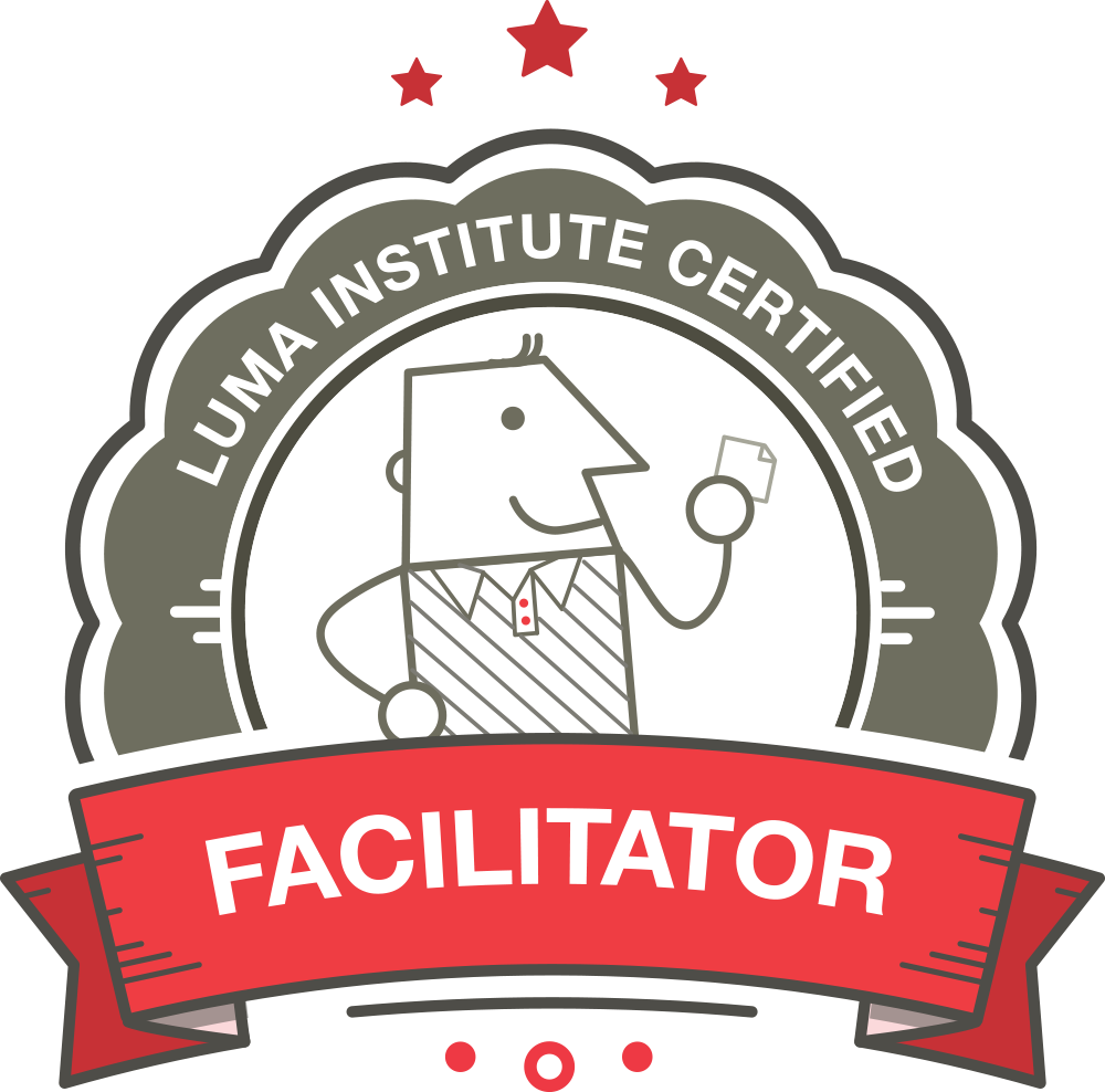 luma facilitator badge